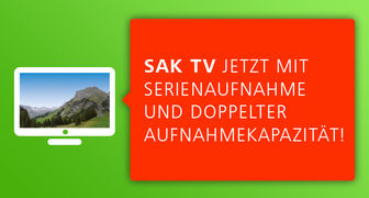Neue Version SAK TV
